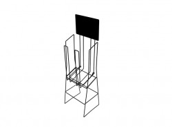 product A4 deep brochure display stand