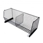 wire base stackable basket