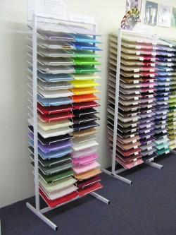 scrapbook paper stand