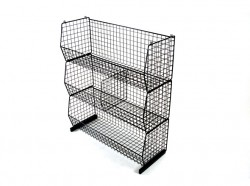 wire stackable basket sets