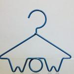 custom made wow hanger - shopfitting