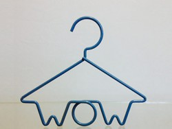 custom made wow hanger - shopfitting