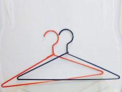 custom made coloured wire hangers - shopfittings