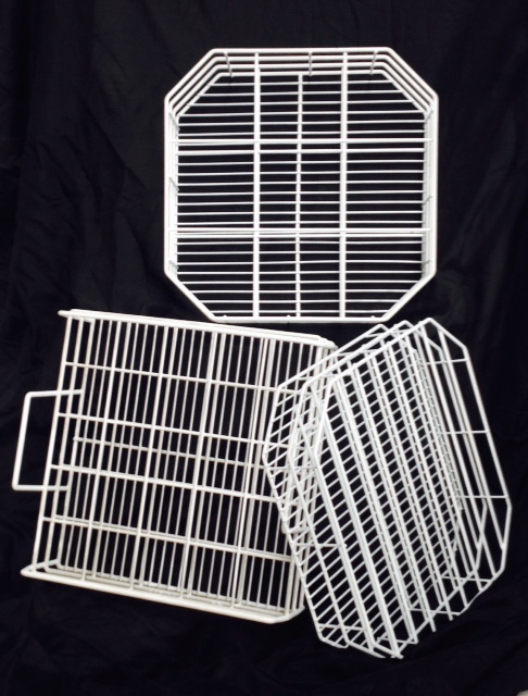 wire plastic coated dishwasher baskets