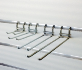 wire double open ended prongs - shopfitting