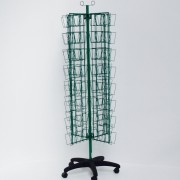 Custom Made Green Wire Seed Display Stand