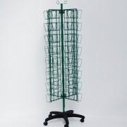 Custom Made Green Wire Seed Display Stand