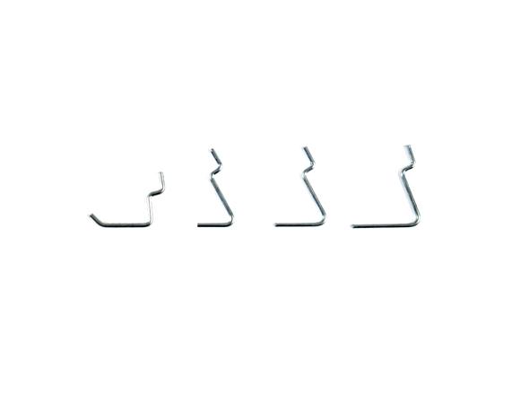 Single V Hook - wire shopfittings and prongs
