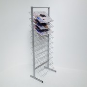 A3 wire paper stand - display