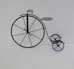 wire forming flower pot bike