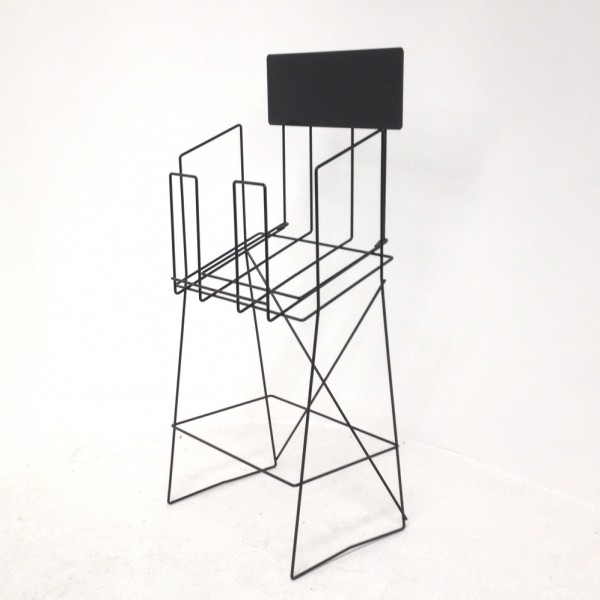 A3 wire real estate display stand landscape