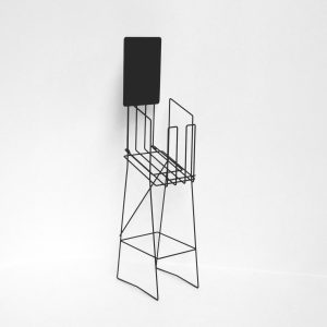 A4 Wire Standard Real Esate Display Stand Portrait