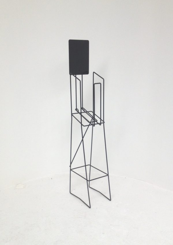 A5 Wire Real Estate Display Stand Portrait
