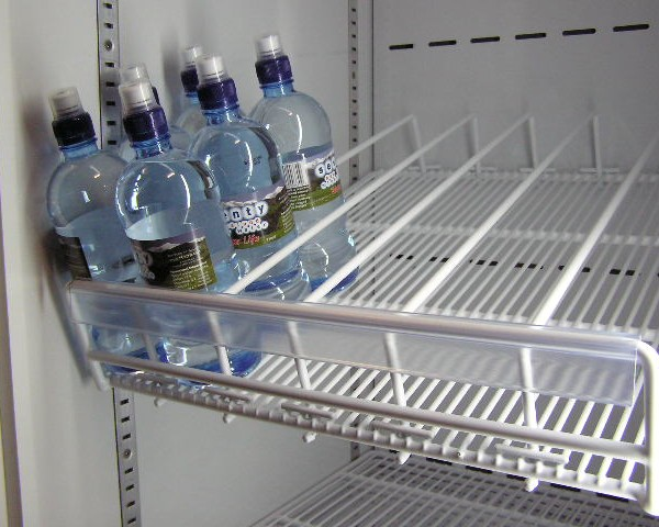 Wire Plastic Coated Fridge Shelves With Dividers