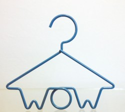 wire forming WOW hanger