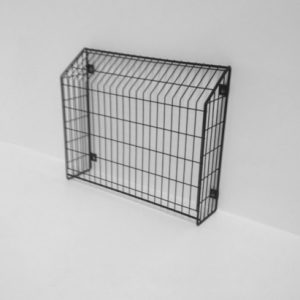 Wall Mounted Heater Guard, Wire Heat Pump Guard - safety and protection