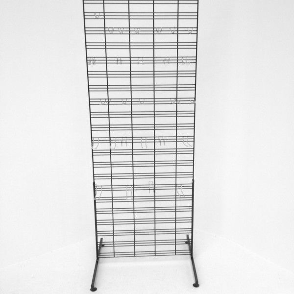 Double Sided Free Standing Wire Mesh Grid