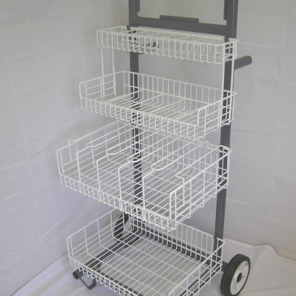 Wire Tiered Trolley