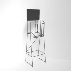 A4 standard wire real estate display stand landscape