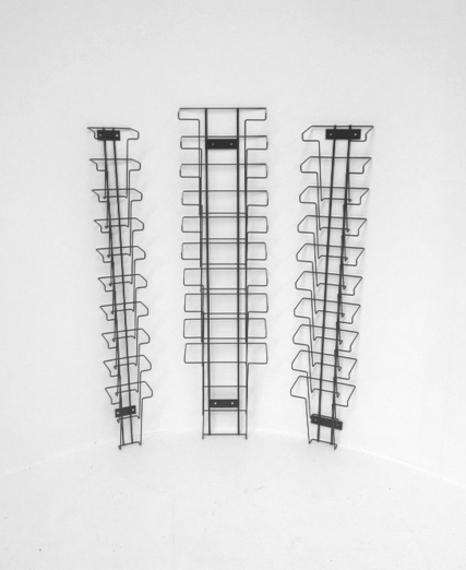 Wall Mounted Waterfall Brochure Holders Wire Displays Wire Displays