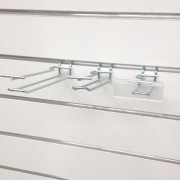 Double Closed Loop Ticket Prong, Wire Hooks, Shopfittings