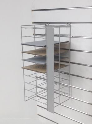 Sandpaper Rack - Pegboard & Slatwall Fitting