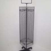 Rotating Multi Mesh Display Stand