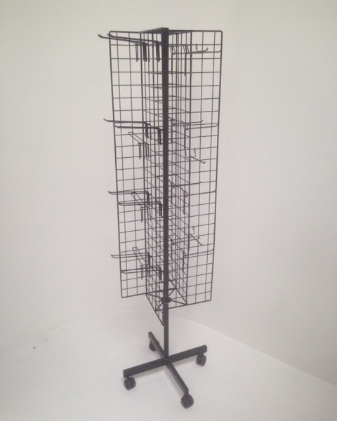 rotating cross mesh stand