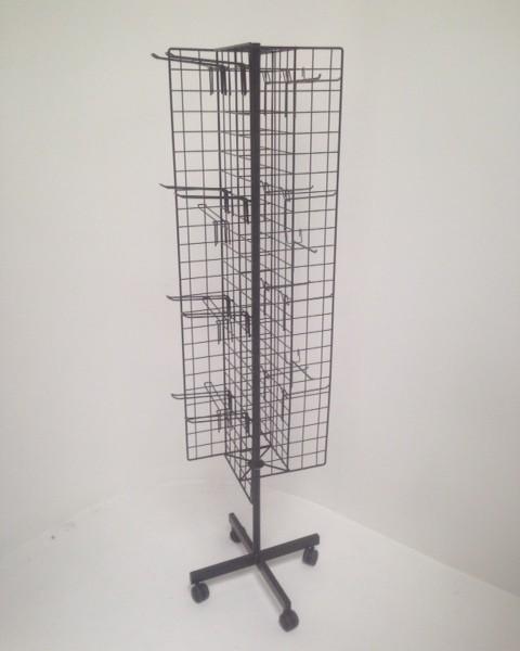 rotating cross mesh stand