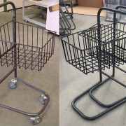 Custom Made Nesting Trollies, nesting and with wheels