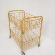 Custom Made Two Tier Basket Trolley