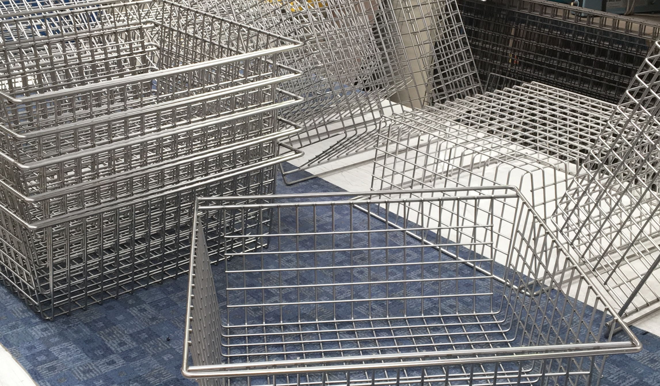stackable-basket Wire Forming Examples on water forming, plastic forming, rocks forming, thread forming,